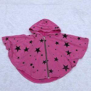 PINK W/Stars Zip-Up Hoodie**Age 7**$68